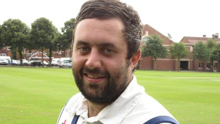 Ben Reece, who top-scored with 62 not out, and took two wickets, in Sudbury's success over Norwich b