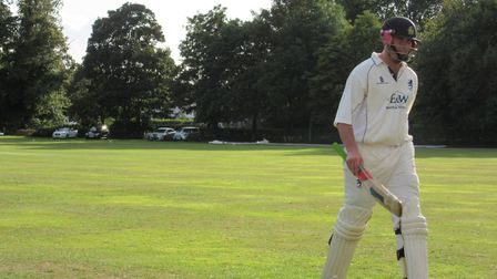 Michael Comber, who scored 72 in Frinton's defeat to Great Witchingham on Saturday. Comber also reco