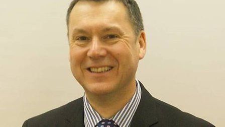 Graham Abbey, vice president of Suffolk Chamber of Commerce