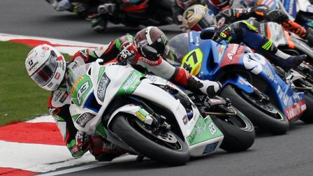 Danny Buchan in action at Oulton Park