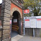 Needham Market Railway Station. There is a ramp access to the Cambridge-bound platform. Picture: GRE