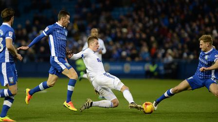 Adam Webster, in action at Sheffield Wednesday this season.