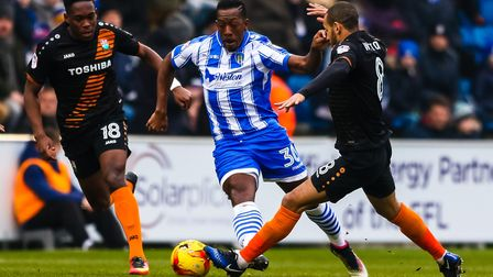 Lloyd Doyley only made three appearances for Colchester