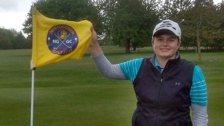 Alice Barlow, has reduced her own women's course record at Newton Green