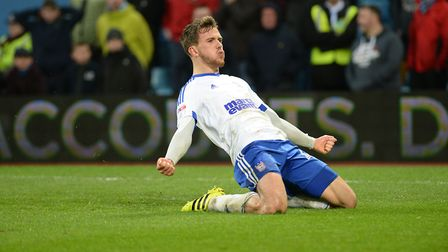 Emyr Huws impressed on loan and could be the box-to-box midfielder Town need. Photo: PAGEPIX