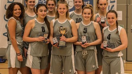 Ipswich Basketball Academy's under-19 girls, based at Copleston High School, lifted the National Cup