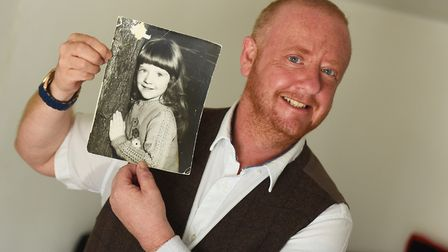 Lee David Carter, from Clacton, was born Lisa. He came out after a long battle with gender dysphoria