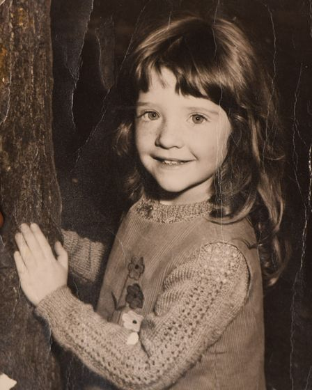 Lee David Carter, from Clacton, as a child