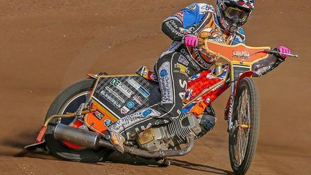 Connor Mountain, leads the Fen Tigers' challenge at Buxton on Sunday