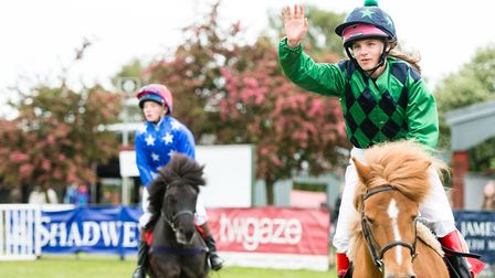 Annual equine events at the Suffolk Show include the popular Shetland Pony Grand National. Picture: