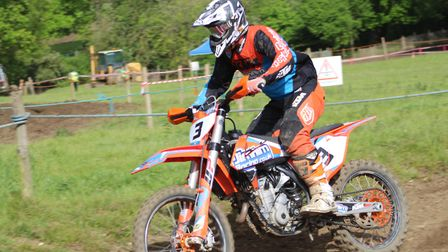 Jason Morland in action at Wattisfield. All photos: SOPHIE BRINKLEY