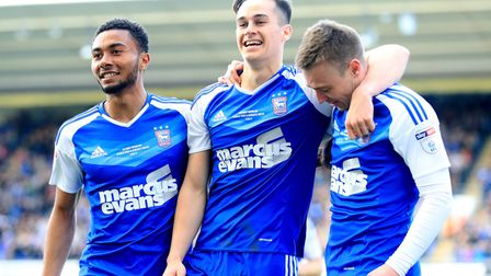 Grant Ward, Tom Lawrence and Freddie Sears will all return to the Ipswich Town team for today's visi