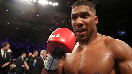 Anthony Joshua has stopped every single one of his 18 opponents