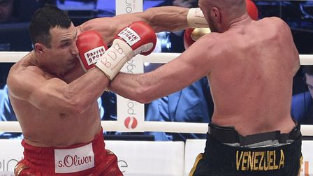 Wladimir Klitschko, left, lost his world titles to Tyson Fury back in 2015 and hasn't fought since