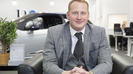 Adam Stott, who will be speaking at the Check-in @ Stansted Business Expo event. Picture: Craig Con
