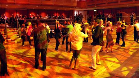 Edwin Sanz Salsa Orchestra at The Apex in Bury St Edmunds on May 19. Picture: CHRIS EDMONDS