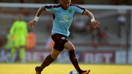 Michael Kightly has been released by Burnley. Photo: PA