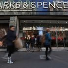 Marks & Spencer has reported a 63.5% plunge in annual pre-tax profits. Photo: Jonathan Brady/PA Wir