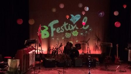 The stage is set for B Festival at Thurston Community College