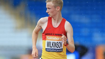 Callum Wilkinson, in the colours of his club Enfield & Haringey, will be in action at the London Sta