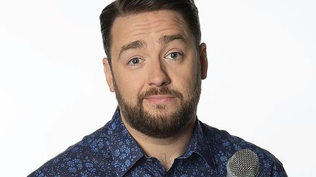 Comedian Jason Manford visits the region next year. Photo: Contributed
