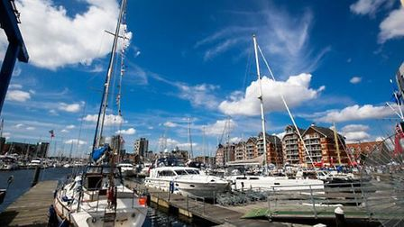 The Ipswich Haven Marina. Picture: ABP