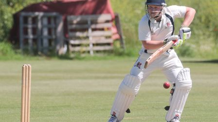 Ipswich batsman Mark Burch, who scored 57 in his side's six-wicket win at Dunmow in Division Two on