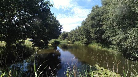 The smaller lake at Edwards Angling. Picture: JAMIE HARROWER