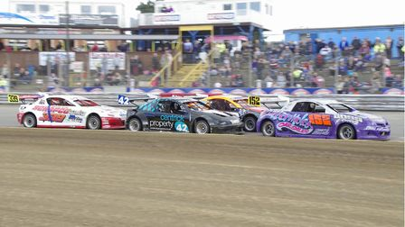 The hot rods will thrill at Foxhall Stadium this weekend