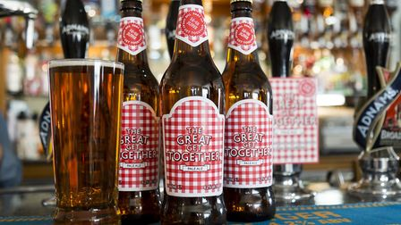 Great Get Together Pale Ale will be available in bottles as well as from the cask. Picture: Sarah G