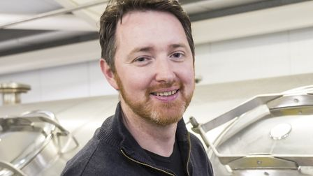 Fergus Fitzgerald, Adnams head brewer. Picture: SARAH GROVES