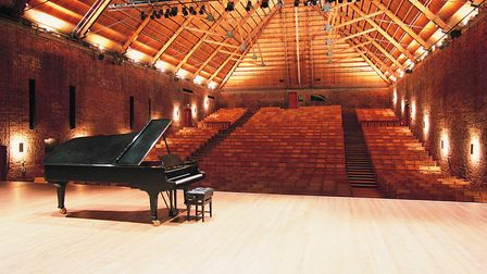 The Snape Maltings Concert Hall, home of the Aldeburgh Festival. Picture: JEREMY YOUNG