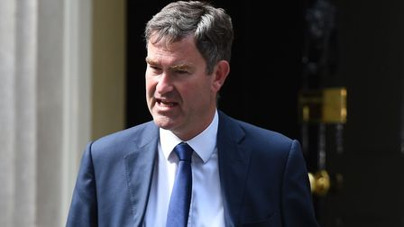 David Gauke, who has been appointed Works and Pensions Secretary, leaves 10 Downing Street in London