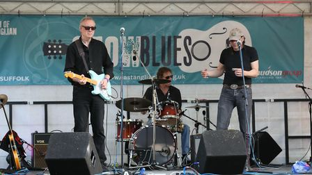 The Keno Kings on stage. Picture: GARY DONNISON.