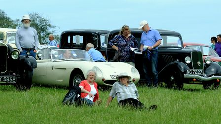 The sights of the Euston Rural Pastimes event at Euston Hall on Sunday. Picture: ANDY ABBOTT.