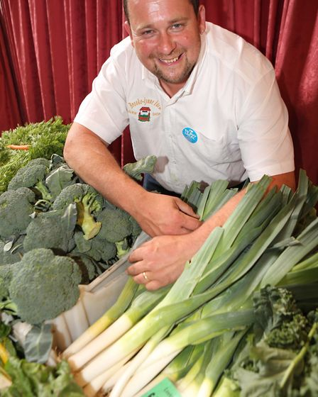 Christopher Carr from Brooke-Lynne Farms . Picture: SEANA HUGHES.