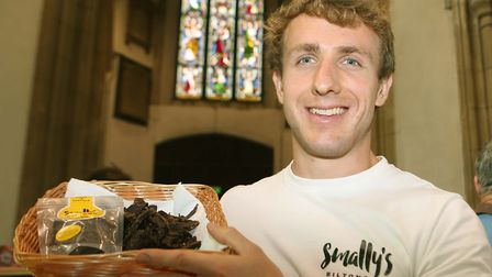 Chris Small from Smallys Biltong. Picture: SEANA HUGHES.