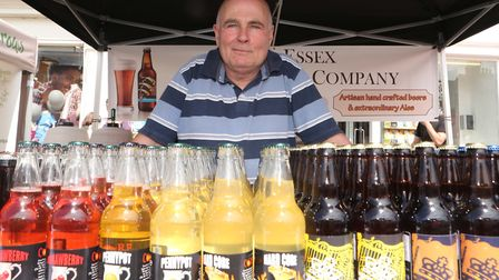 Ian Chisholm from Essex Brewing Company . Picture: SEANA HUGHES.