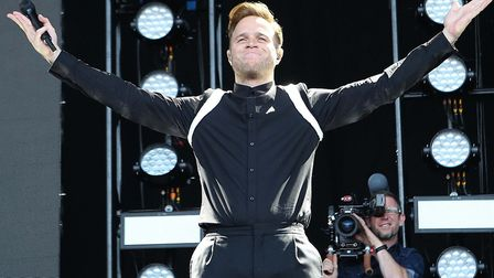 Olly Murs concert in Colchester on Saturday night . Picture: SEANA HUGHES.