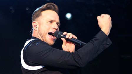 Olly Murs concert in Colchester. Picture: SEANA HUGHES.
