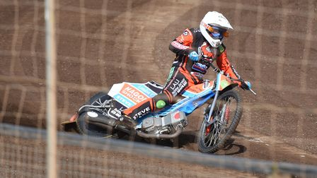 Danno Verge, in great form for Mildenhall at Buxton