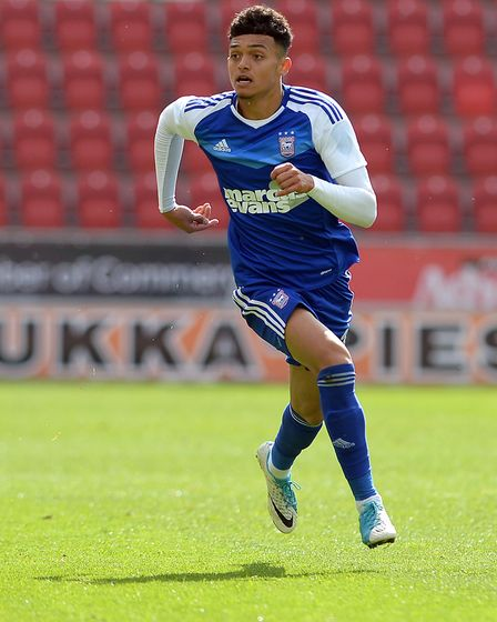 There are high hopes for Andre Dozzell at Ipswich Town. Photo: PAGEPIX