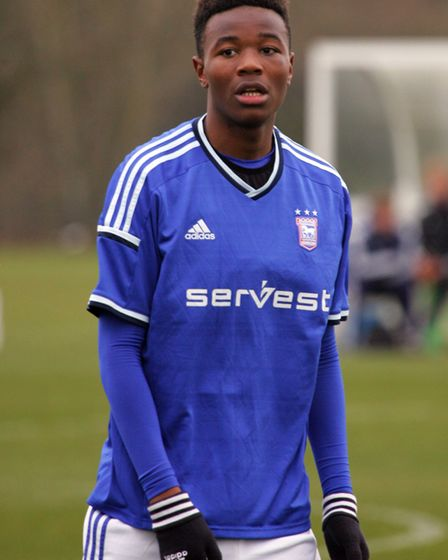 Kundai Benyu will be hoping this is his big breakthrough year at Ipswich Town. Photo: Simon Parker