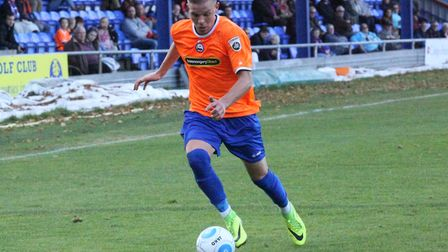 New Zealand international Monty Patterson gained experience on loan at Braintree Town. Photo: Alan S