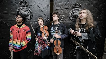 Terrafolk, who are playing at FolkEast. Picture: BOJAN STEPANCIC