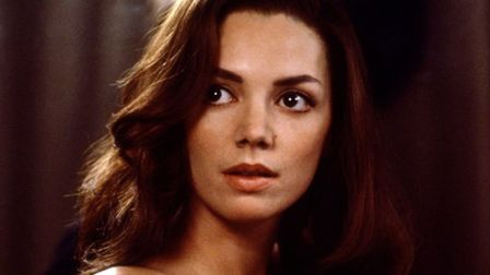 Joanne Whalleyt as Christine Keeler in Scandal, the story behind the Produmo Affair. Picture: MIRAMA