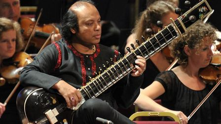 Sitar star Nishat Khan who is performing at the Aldeburgh Festival. Picture: Snape Maltings
