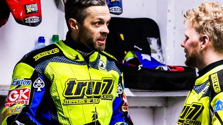 Rory Schlein, left and Cameron Heeps - a tough night for the Witches at Edinburgh