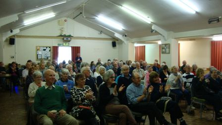 One of the audiences at Wickham Market Movies. Picture: WICKHAM MARKET MOVIES