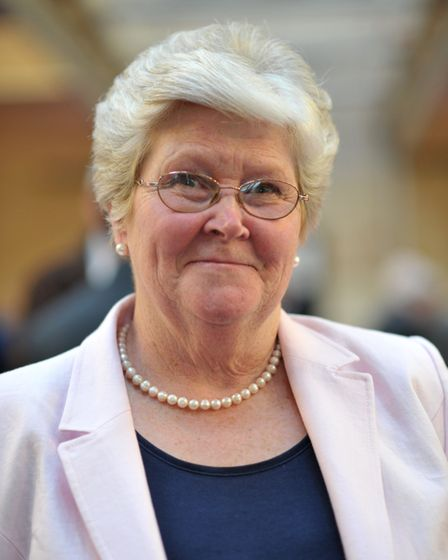 Jennie Jenkins, leader of Babergh District Council. Picture: SARAH LUCY BROWN